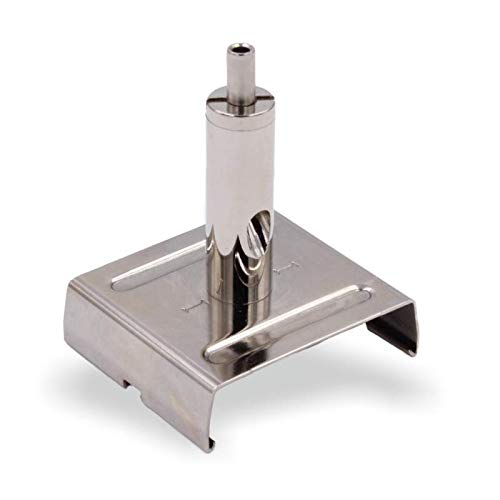 Drahtseilhalter/Gripper 15, IVELA Stromschienen Clip | passend für Ivela eckige 3-Phasen Stromschienen & Drahtseile mit einem Durchmesser von 1,2mm - 1,5mm (Silber)