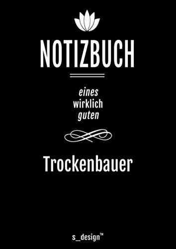 Notizbuch für Trockenbauer / Trocken-Bauer: Originelle Geschenk-Idee [120 Seiten kariertes DIN A4 blanko Papier]