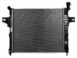 TYC 2336 Compatible with JEEP Grand Cherokee 1-Row Plastic Aluminum Replacement Radiator