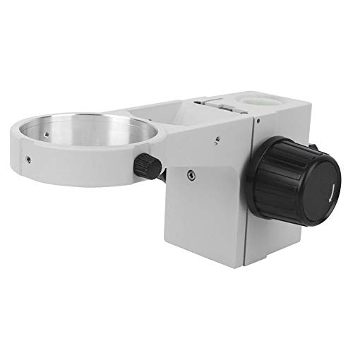 Mikroskop-Fokussierhalterung, KP-A1-25 Stereo-Stereo-Mikroskop-Fokussierhalterungsrahmen, 76-mm-Objektivmikroskopzubehör mit Guter Leistung und Effizienz