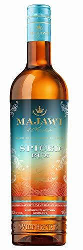 MAJAWI Spiced Rum, brauner Rum 35% vol., Rum Komposition aus Mauritius, Jamaika und Wilthen