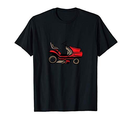 Rouler sur une tondeuse à gazon T-Shirt