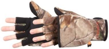 Manzella Productions Bowhunter Convertible Glove/ Mitten Realtree Xtra Yth Large