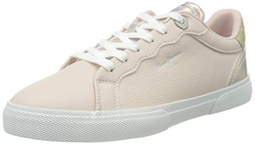 Pepe Jeans Kenton Supra, Zapatillas Mujer, 300pale Pink, 38 EU