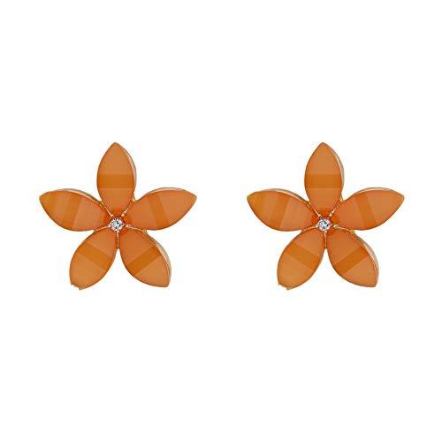 Parfois - Pendientes Cortos Flor con Cristales - Mujer