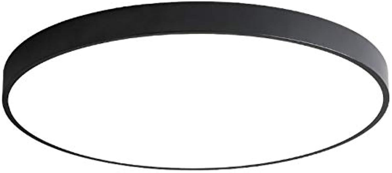 LED Deckenleuchte, Modern minimalistisch schlank Deckenlampe 18W Badezimmerlampe, Passend für Büro Balkon Wohnzimmer Schlafzimmer 30  30  5 CM (6000K-6500K)