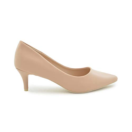Zapato salón Tacon Medio Nude