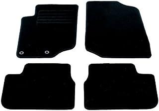 Auto Fußmatten Velours Set 4 teilig passgenau, schwarz