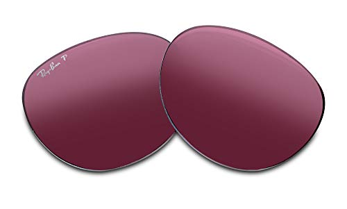 Ray-Ban Original ERIKA RB4171 54M Purple Polarized Replacement Lenses For Women+FREE Complimentary Eyewear Care Kit