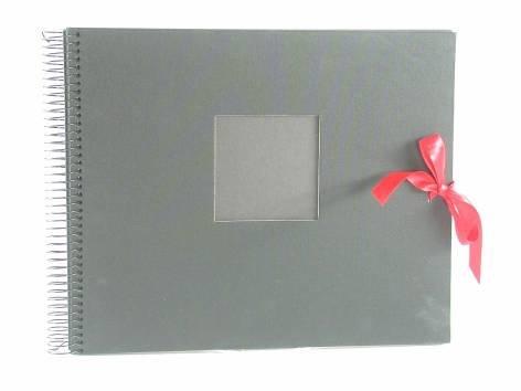 Goldbuch 22555 Spiralalbum Dream, 40 schwarze Seiten 30x25