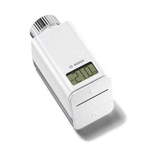 Bosch Thermostat de radiateur connecté Smart Home (Livré sans le contrôleur Bosch Smart Home, France uniquement)