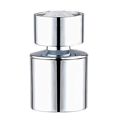 Waternymph grifo hembra (M22 x 1') Aireador y regulador antisalpicaduras para grifos de cocina o baño con adaptador de metal - cromo pulido M22