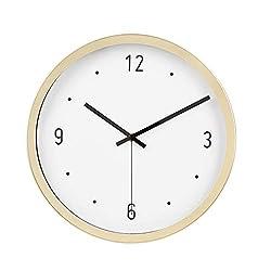 AmazonBasics 12 Dot Wall Clock, Brass