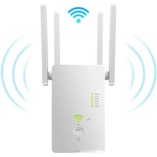 Funiee Super Boost Wifi, hasta 1200 Mbps, WiFi repetidor, WiFi Range Extender,...