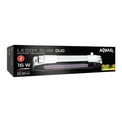 Aquael Leddy Slim Duo Sunny & Plant 16 Watt Aquarium Beleuchtung Weiß