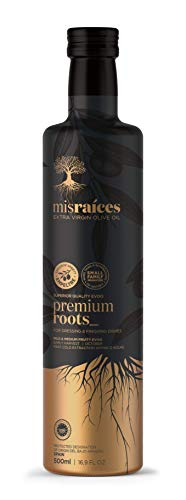 Mis Raíces - Aceite de Oliva Virgen Extra – PREMIUM ROOTS 20 AOVE– 1 Botella 500ml - (Exclusiva variedad EMPELTRE – Aceite Premium)…