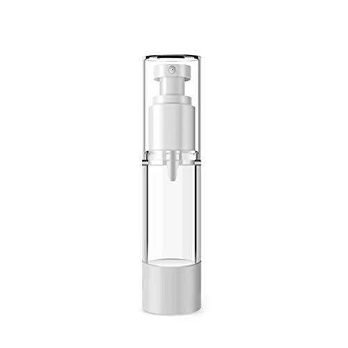 Da.Wa 1 Flacon Pulvérisateur à Vide Plat Transparent pour Bouteille à épaulement Rond Pulvérisation Simple pour Recharge Liquide 30ml