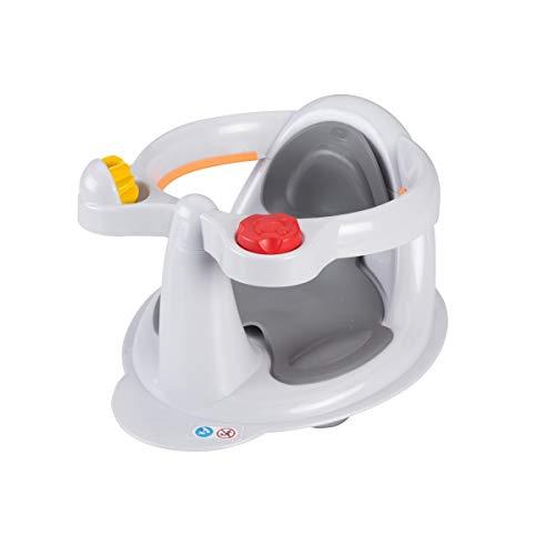 Tigex Collexion - Asiento de bebé para bañera, color gris, 6-12 meses