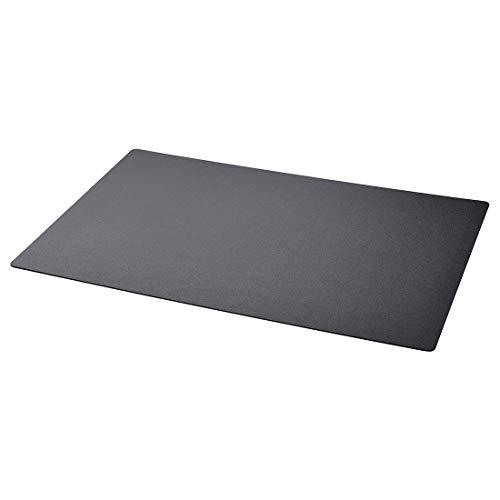 IKEA SKRUTT Schreibunterlage, schwarz, Schreibtischunterlage Unterlage 65x45 cm