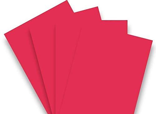 200 Blatt Qualitätspapier/Farbpapier/Kopierpapier A4 ROT 80g/qm Coloraction