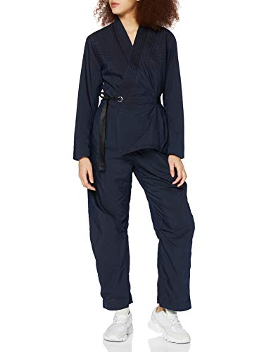 G-STAR RAW Womens Wrap Jumpsuit, Rinsed C282-082, L