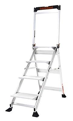 Little Giant Ladder Systems 11904 4-Step Jumbo (Renewed)