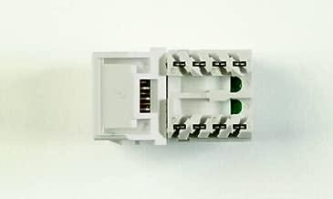 Systimax - Mgs400-246-bulk - (priced Pack) 1-port Mod Jack 110 8w8p Utp T568a/b Cat6 Ip5 Gigaspeed 760041970 Ivry 100pk