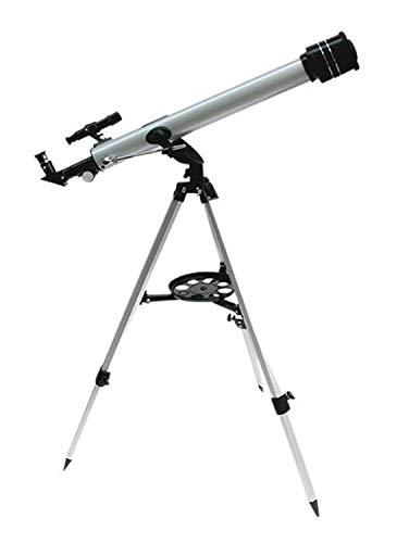 ZTBXQ Suministros de Equipo para Acampar Telescopio para niños observacióndeEstrellasTubo único 525 Veces Visor Distancia Focal Reflectante: 700 mm Abertura Clara: 600 mm