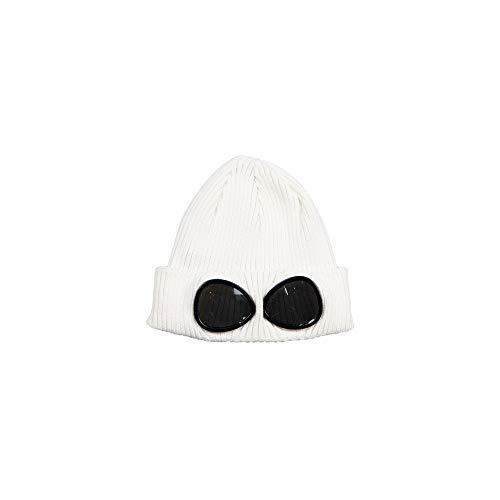 CP Company Cotton Knit Cap Kinder 08CKAC024A000727A 103 Gauze White (M)