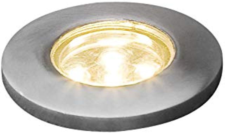 Konstsmide Leuchten, Edelstahl 304, klares Glas