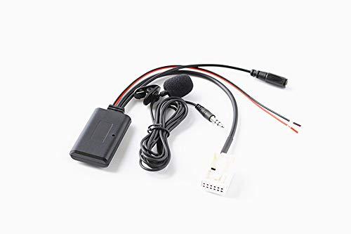 Adaptador Bluetooth manos libres para radio Peugeot 307 407 508 Citroen C5 C6 RD4 Blaupunkt VDO Bosch, AUX inalámbrico parlante música transmisión de audio