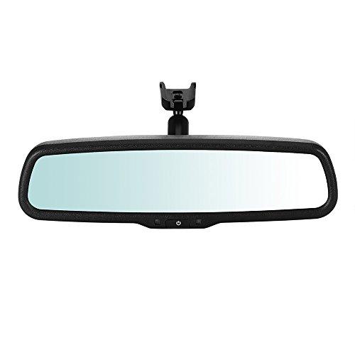 OurLeeme 4.3 LCD specchietto retrovisore per Auto Posteriore Specchietto retrovisore Monitor per parcheggio per Telecamera Posteriore per la Maggior Parte delle Automobili