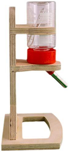 Getzoo Tränke aus Holz + Classic® Trinkflasche 75 ml - 4