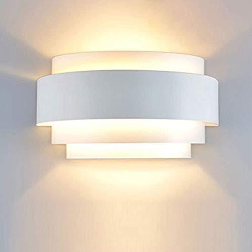 Maxmer Apliques de Pared Interior LED Luz de Pared 40W Iluminación Diseño para Dormitorio Salón Escalera, Blanco Cálido