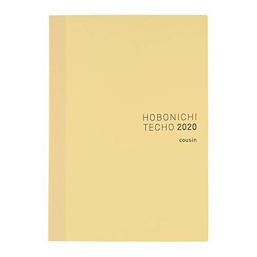 ほぼ日手帳 2020 手帳本体 カズン(A5サイズ) 2020年1月はじまり 月曜はじまり 1日1ページ T20BA1MX01060