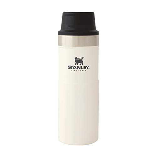 STANLEY(スタンレー) 新ロゴ クラシック真空ワンハンドマグII 0.47L ホワイト 水筒 06439-067 (日本正規品)