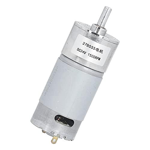Motor De Engranajes, Caja De Engranajes Silenciosa DC Cobre 1500 RPM Para Automatización De Oficinas Para Cerraduras De Puertas Electrónicas Para Maquinaria Financiera