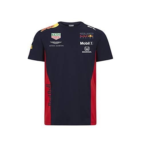 PUMA AMRBR Team tee Camiseta, Hombre, Negro, 2XL