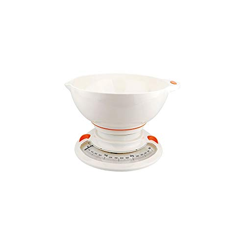 Little Balance 8224 Balance culinaire, Blanc/Orange