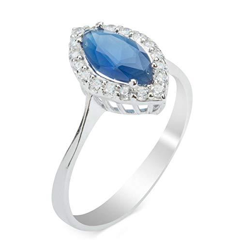 Taşlı Bayan Gümüş Yüzük Özel Tasarım Yeşil Mavi Renk Doğal Taşlı Noel Zirkon Sterling Damen Silber Ring Special Design Grün Blau Farbe Natürlicher Zirkonia Weihnachts