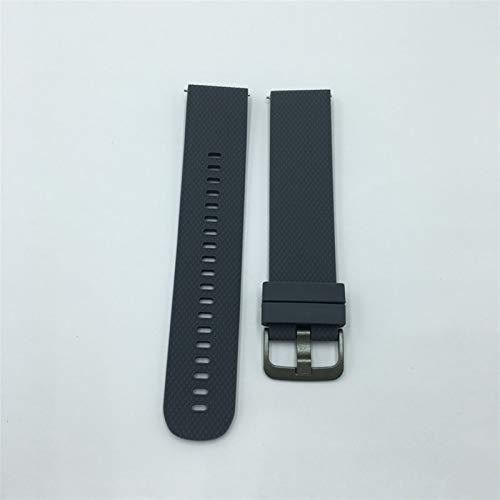 Correa de Gel de sílice con Reloj Huawei GT / GT2 (46mm) / GT2E / Glory Magic / MAGIC2 (46mm) Compatible, Pulsera de reemplazo de Silicona, Ancho de la Correa de Reloj: 22 mm, Liqingshangmao