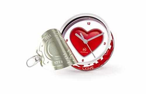my clock MyClock Reloj de Mesa, Personalizable, Regalo Original con Foto, Marco de Fotos, DIY - Love L