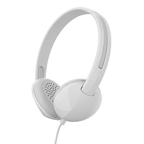 Skullcandy Stim on-Ear Headphone, White/Gray (S2LHY-K568)