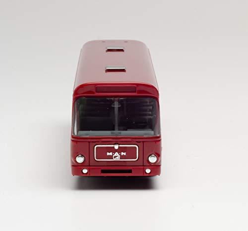 Man SÜ 240 Bahnbus Deutsche Bahn Fahrzeug in Miniatur zum Basteln, Sammeln und als Geschenk