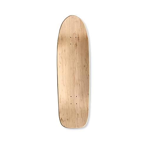 ブランクデッキ スケートボード オールドスクール 33×10 ヘブンスケボーデッキ 無地デッキ 33インチ