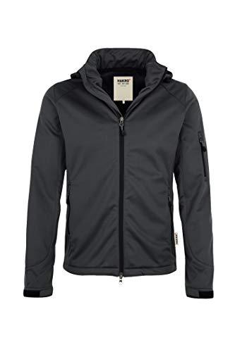 HAKRO Softshell-Jacke Ontario - 848 - anthrazit - Größe: 4XL