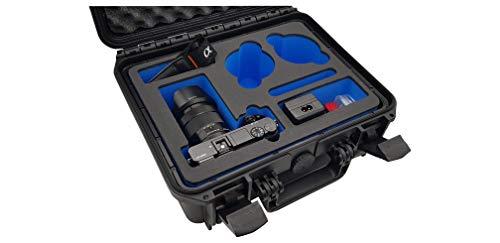 DroneCases ® Maletín de transporte y almacenamiento para Sony Alpha 6000, Alpha...