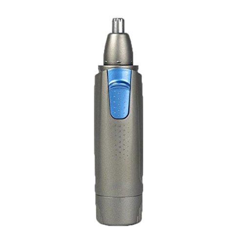 Nez Tondeuse Hommes Rechargeable Électrique Rasage Ciseaux Cutter Nez Cut Nez Épingle à Cheveux Femmes Sourcil Hommes Hommes,Grey-OneSize