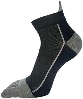 CHUTD, CHUTD Calcetines de Cinco Dedos para Correr 5 Pares de Calcetines de algodón con Punta para Hombre Niño para Proteger Calcetines de Tobillo Calcetines de Cinco Dedos Malla de compresión Calcetines