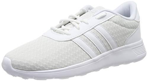adidas Damen Lite Racer Laufschuhe, Weiß (FTWR White/FTWR White/Silver Met. FTWR White/FTWR White/Silver Met.), 36 2/3 EU